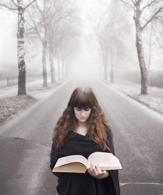 Book Fog Girl 183 Free Photo On Pixabay
