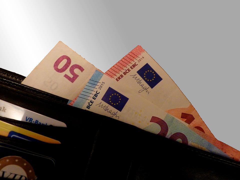 Cash, Income, Euro, Euro Coin, Europe, Euro Banknote