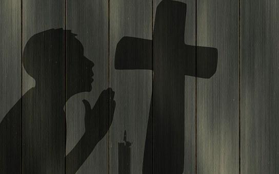 Pray, Cross, Wall, Prayer, Religion, grace