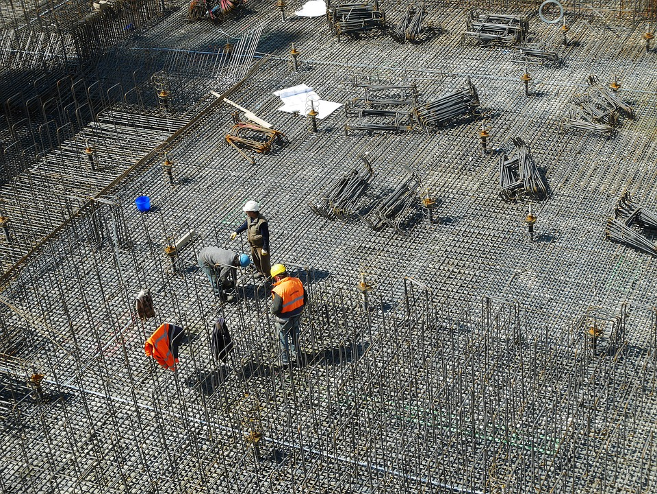 ingenieur op een bouwplaats