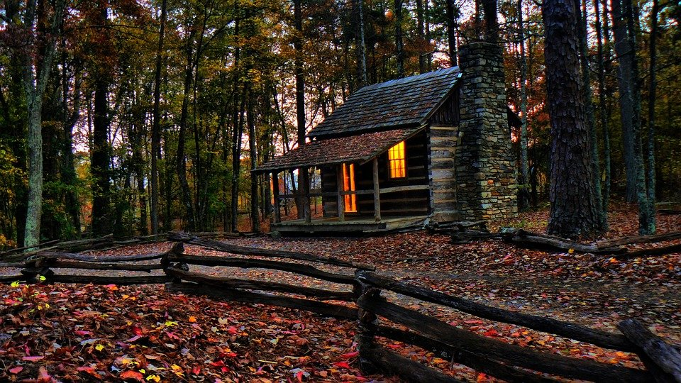 Free Photo Cabin Woods Fall Historic Free Image On