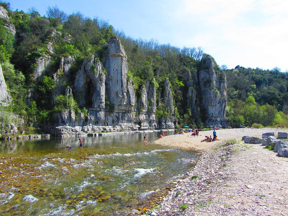 photo ardeche paysage - Image