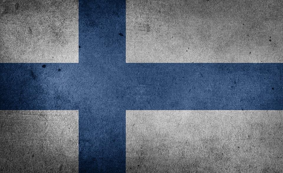Free illustration: Flag, Finland, Europe, Baltic