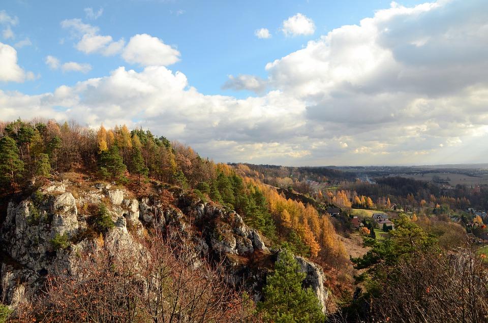 Bolechowice, Skałki, Szlak Orlich Gniazd, Polska