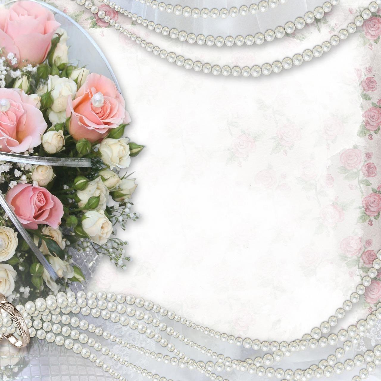 Фон для поздравительной открытки с днем свадьбы 84