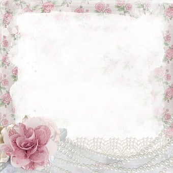 Background, Scrapbooking, Roses, Pink