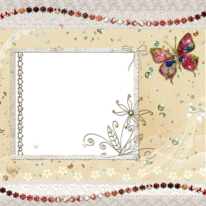 Free illustration: Background, Scrapbook, Butterfly - Free ...