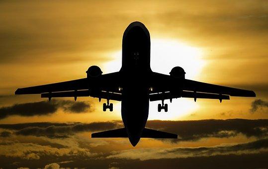 Самолет, Праздник, Солнце, Туризм, Лето