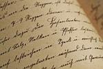 pisma, sütterlin, vintage