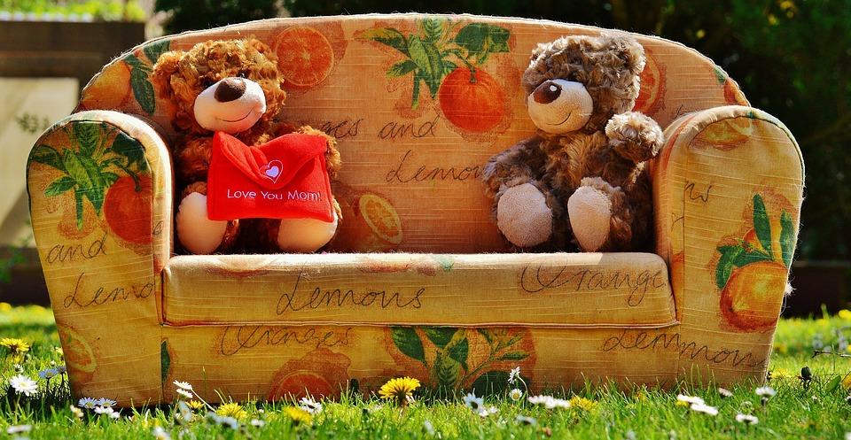 テディ, 母の日, 愛, ママ, グリーティング カード, 母, ようこそ, 背景, 中心部, ありがとう