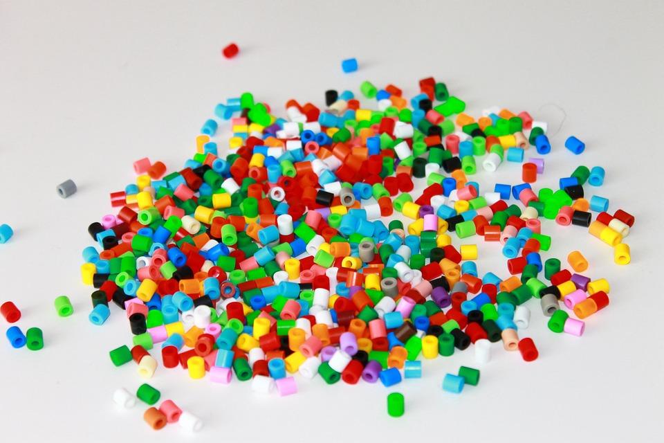 Perles à repasser de toutes les couleurs
