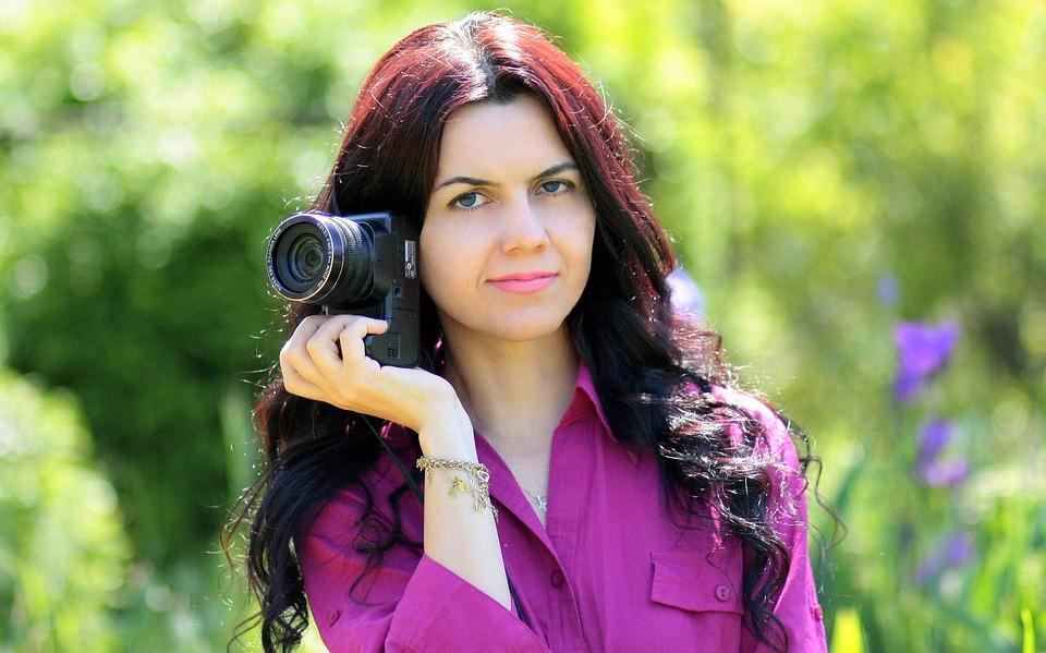 Free photo: Photographer, Camera, Girl - Free Image on Pixabay ...