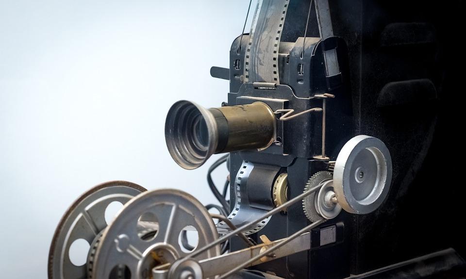 Reżyser, 35Mm, Vintage, Projektor, Antyczny, Film
