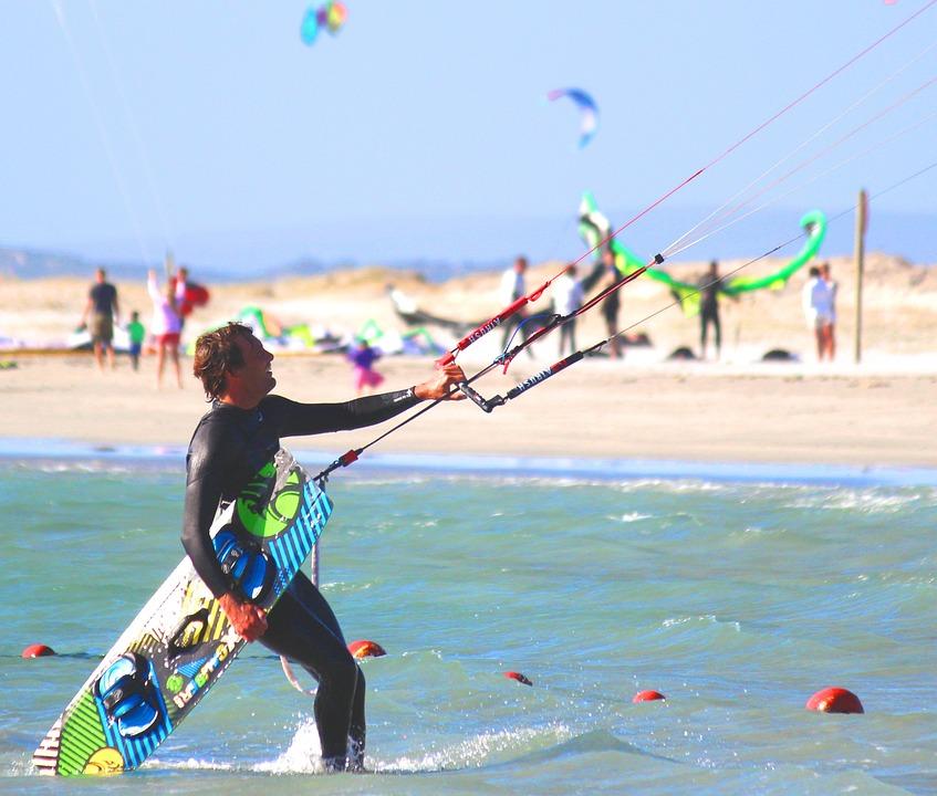 kitesurf vakantie portuga;