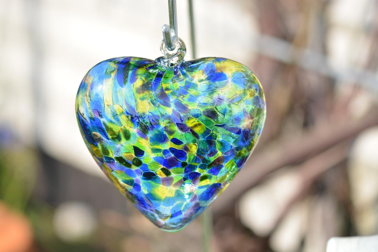 Сердечко стеклянные картинки