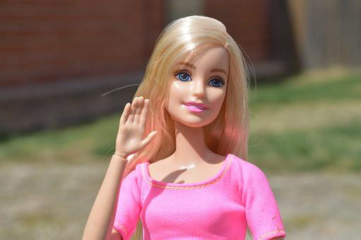 Barbie, Doll, Waving, Wave, Hello