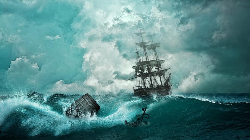 Nave, Naufragio, Avventura, Impostazione, Barca