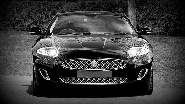 ジャガー, 車, 車両, 自動, スタイル, 交通, 古典的な, 自動車