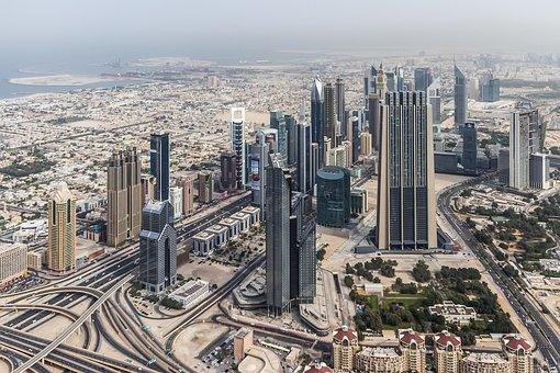 Dubai, City, Cityscape, Skyscraper
