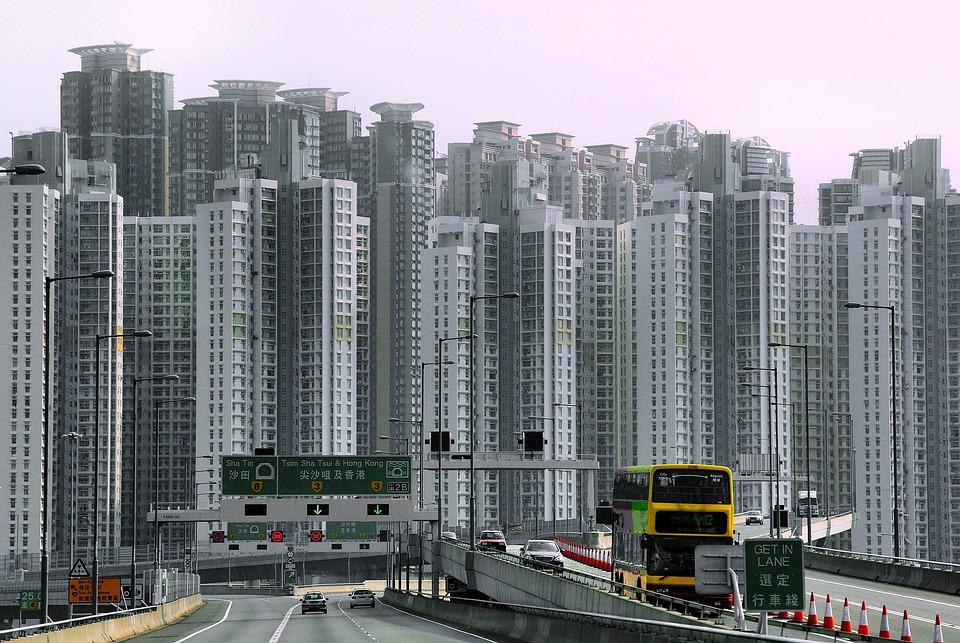 free photo  china  hong kong  skyscraper