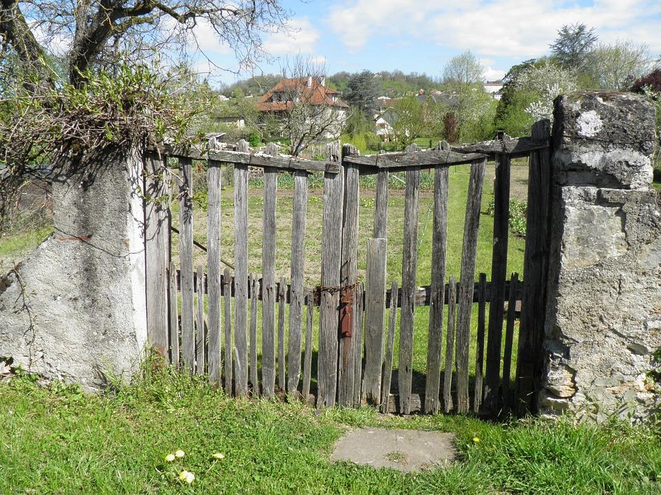 barrire portail jardin campagne clture - Portail De Jardin