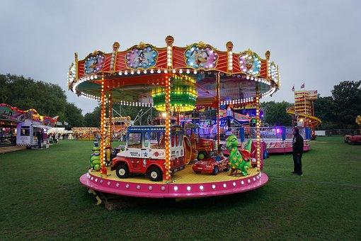 Fairground Fair Ride Children Kids Carniva