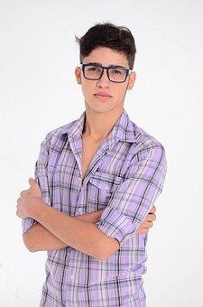 Brasil Roraima Óculos Modelo Garoto Social
