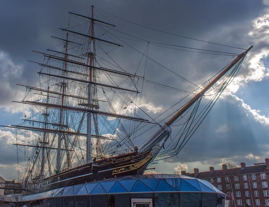 Cutty Sark, Ship, London, Historic, Sailing, Vessel