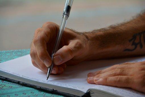 Mains, Écrit, Journal Intime, Journal