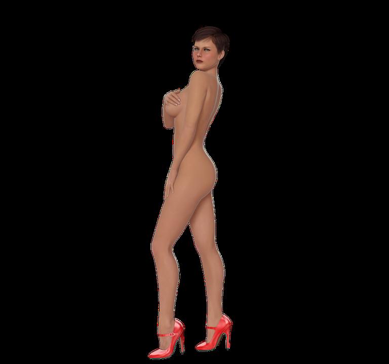 Nøgen pige pix
