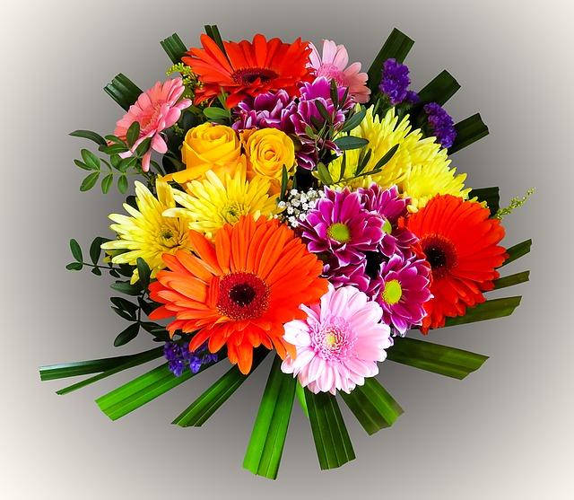 С днем рождения картинки цветы герберы
