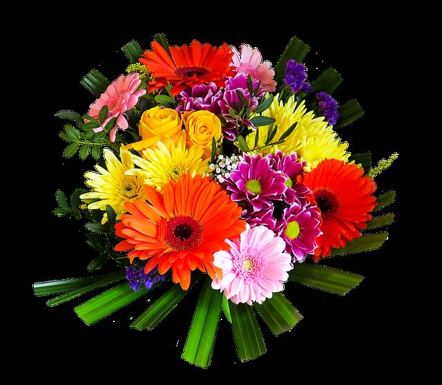 Blumen Blumenstrauß Freigestellt · Kostenloses Bild Auf