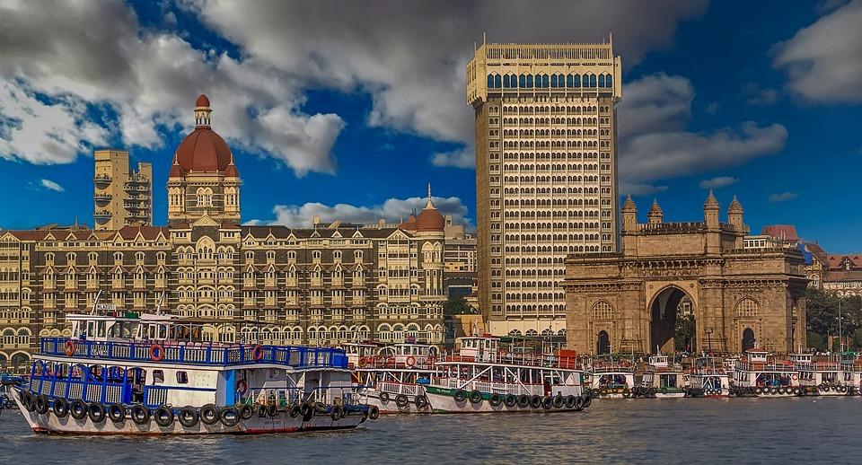 Mumbai, Brama Do Indii, Indie, Statek, Statki, Morze