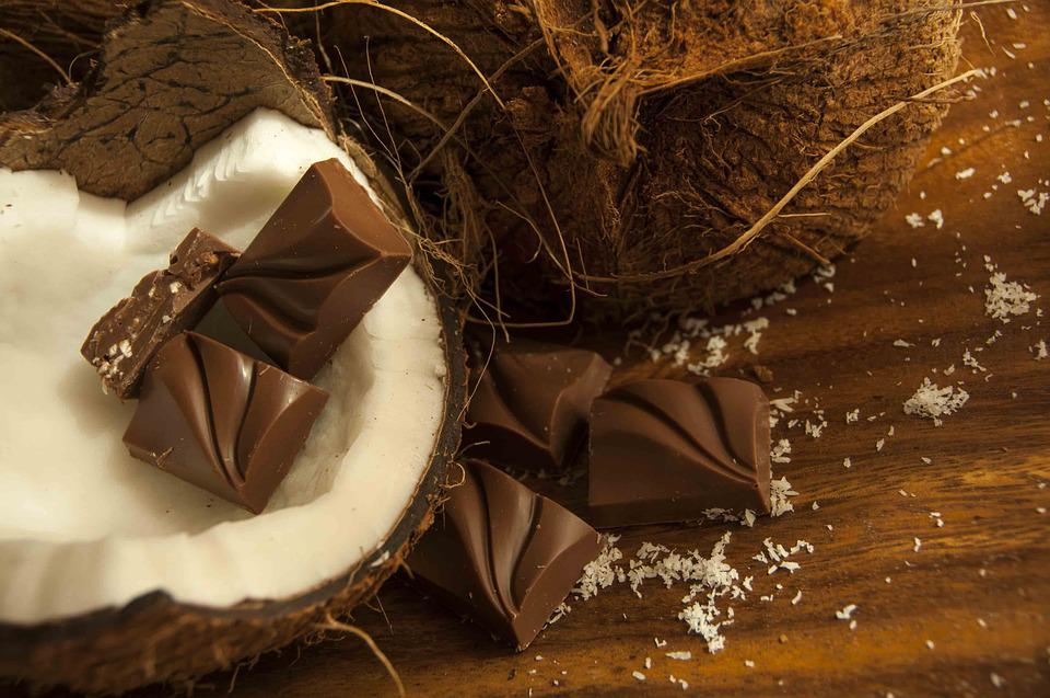 Cioccolato, Noce Di Cocco, Dessert, Delizioso, Sweet