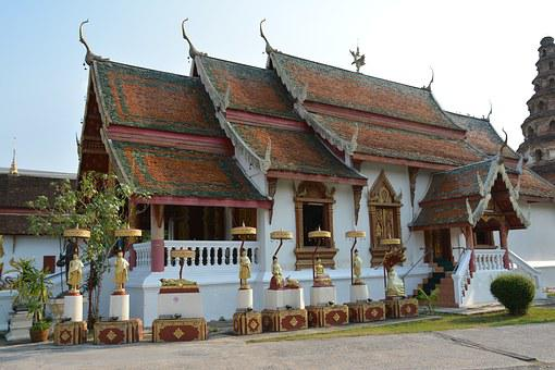 Thailand, Temple, Buddhism, Religion