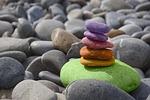 saldo, kamienie, medytacja