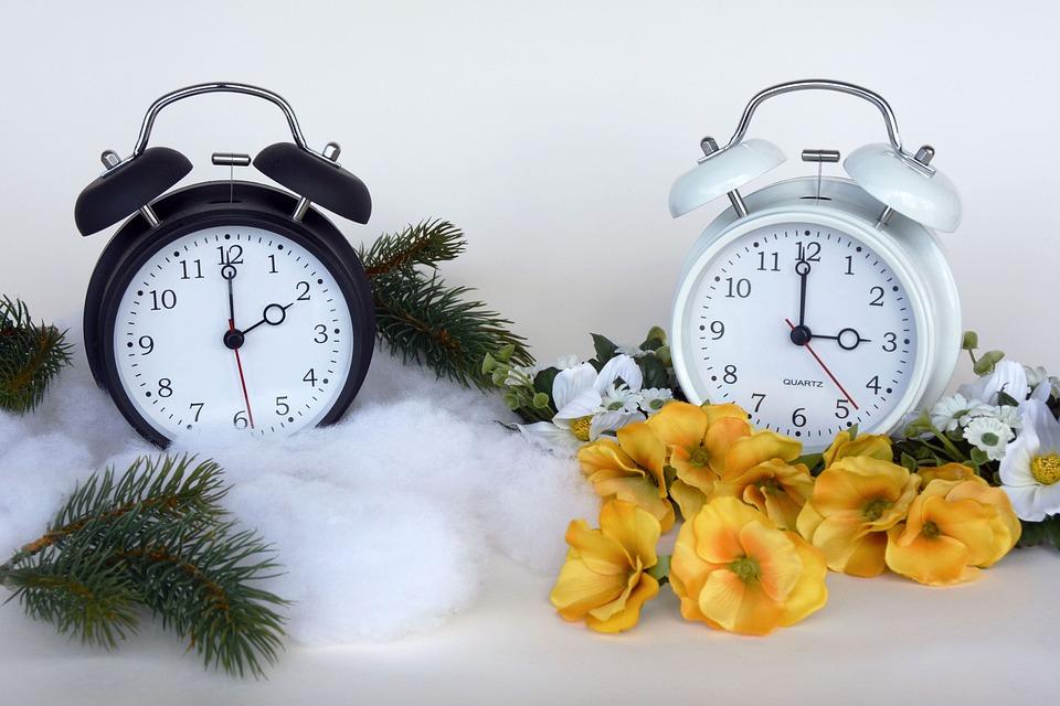Tijdconversie, Tijd Van, Zomertijd, Klok, Minuten, Uur
