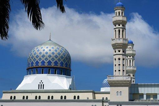Mosque, Malaysia, Sky, Cloud
