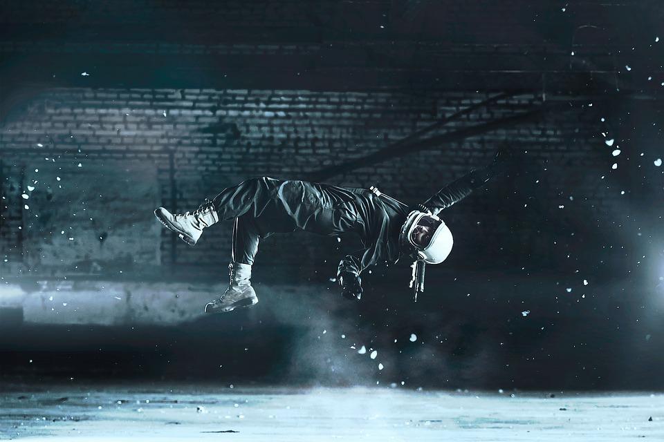Levitazione, Stuntman, Stunt, Salto, Caduta, Incidente