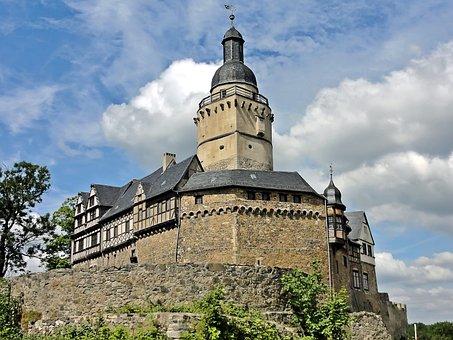 Castle Falkenstein, Monument, Resin