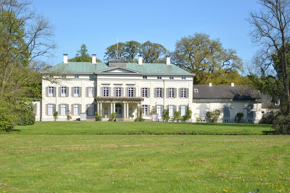 Castle, Herregård, Gut, Bygningen, Hus, Villa, Slott