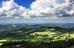 hills, landscape