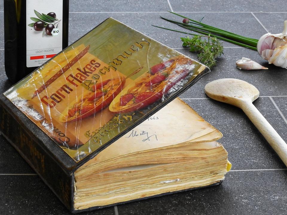 調理する, 料理の本, ページ, 恩恵を受ける, 食べる, 新鮮, 自家製, 準備, レシピ, 食品, 食材