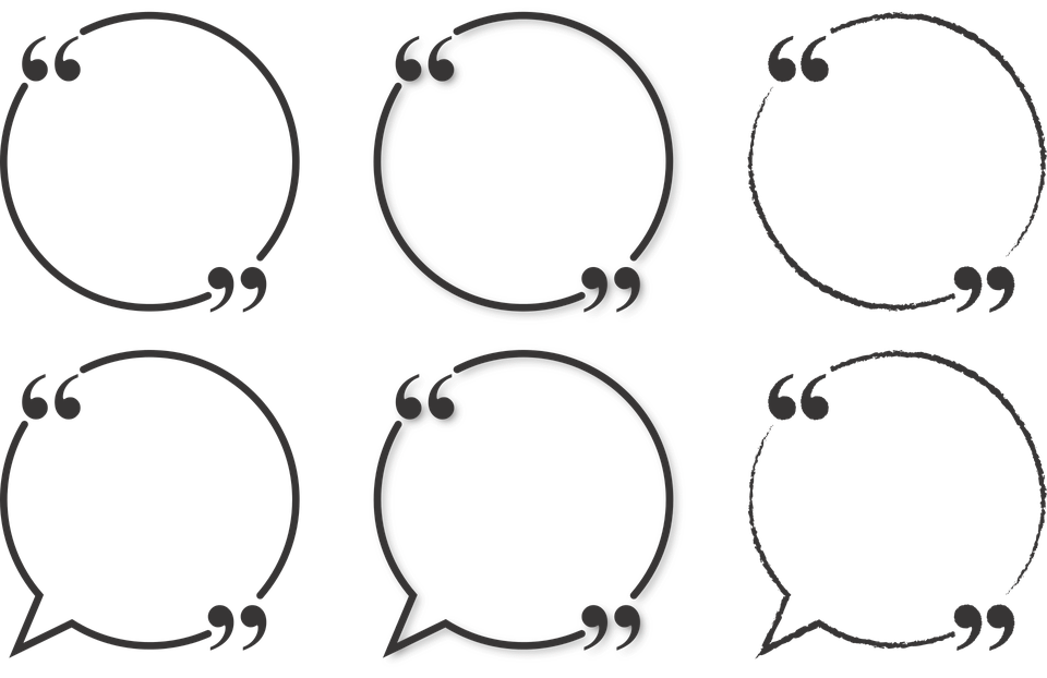 Text Bubble: Quote Bubble Circle · Free Vector Graphic On Pixabay