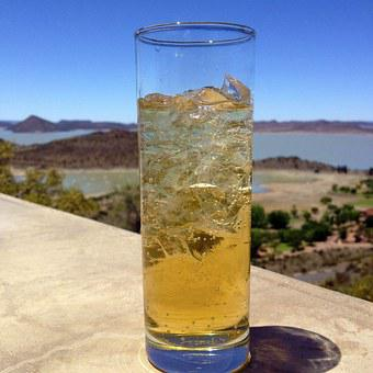 Glass, Water, Gariep Dam, Scenic Drink
