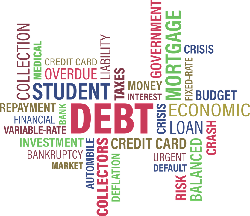 Debt, Loan, Student, Mortgage, Business