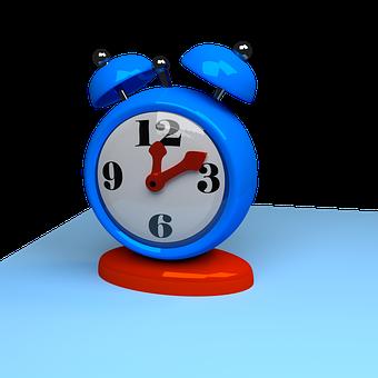 Reloj, Tiempo, Alarma