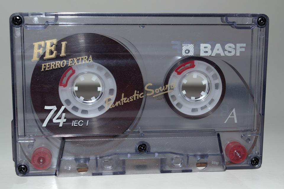 Musik, Kassette, Kompakte Kassette