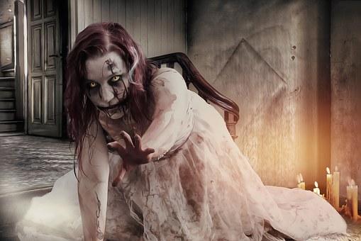 Gothic Goth Horror Dark Zombie Zombie Girl