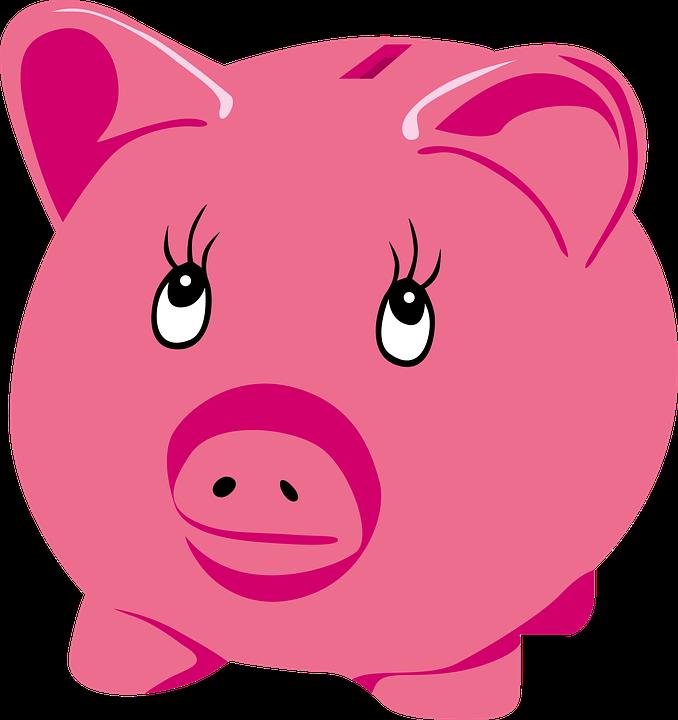 piggy bank money free vector graphic on pixabay
